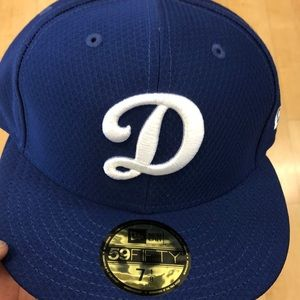 Dodgers fitted hat